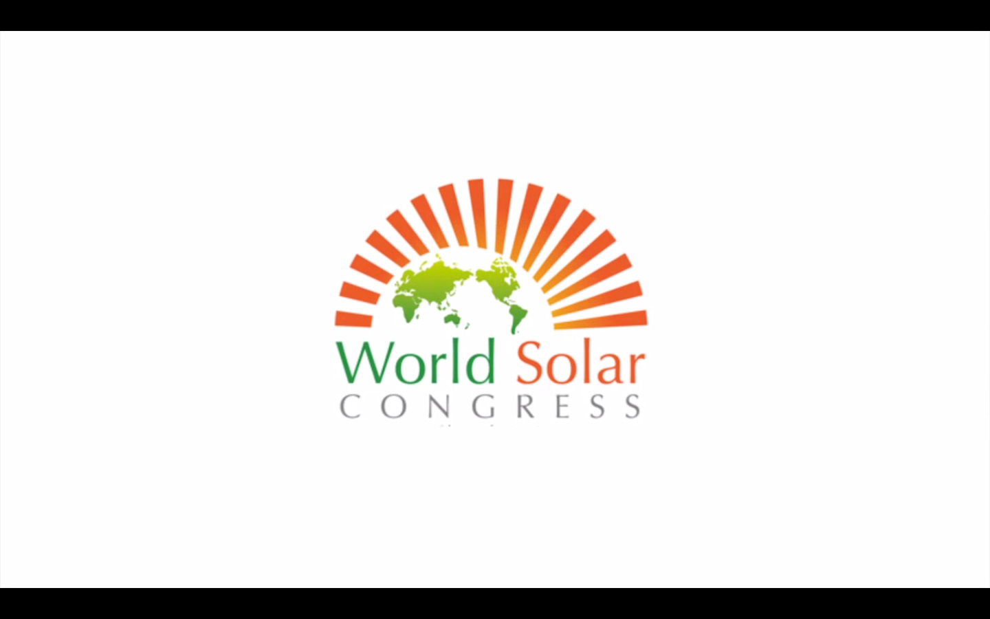 World Solar Congress 2012 in Shanghai