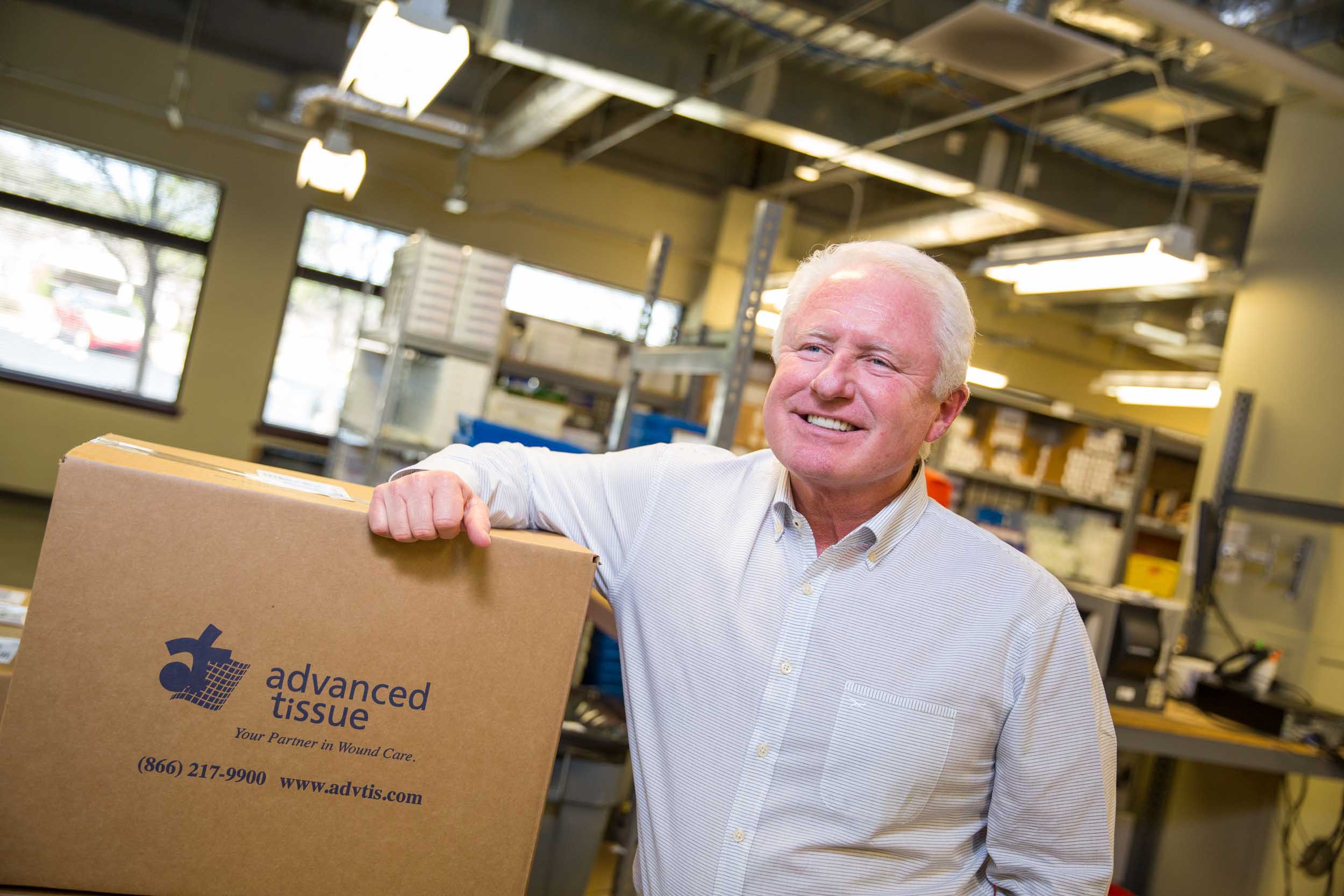CEO of Advanced Tissue – Kevin Lamb