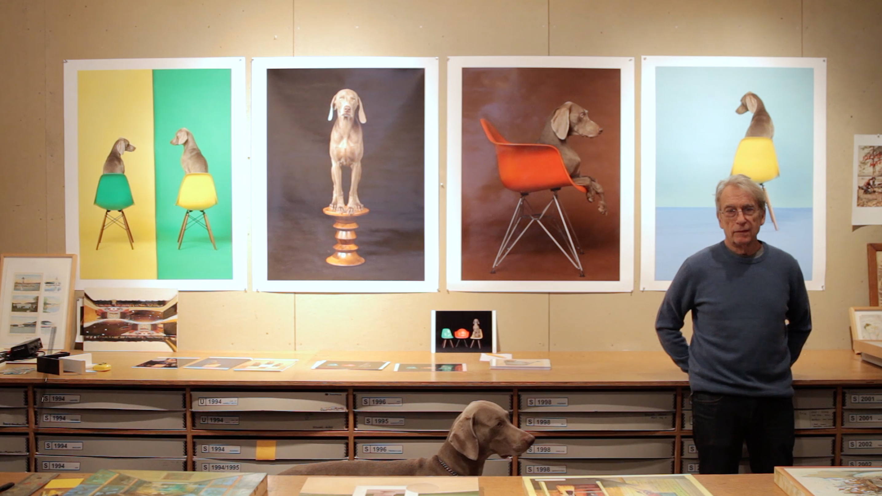 RXART – WORKING WITH ARTIST WILLIAM WEGMAN