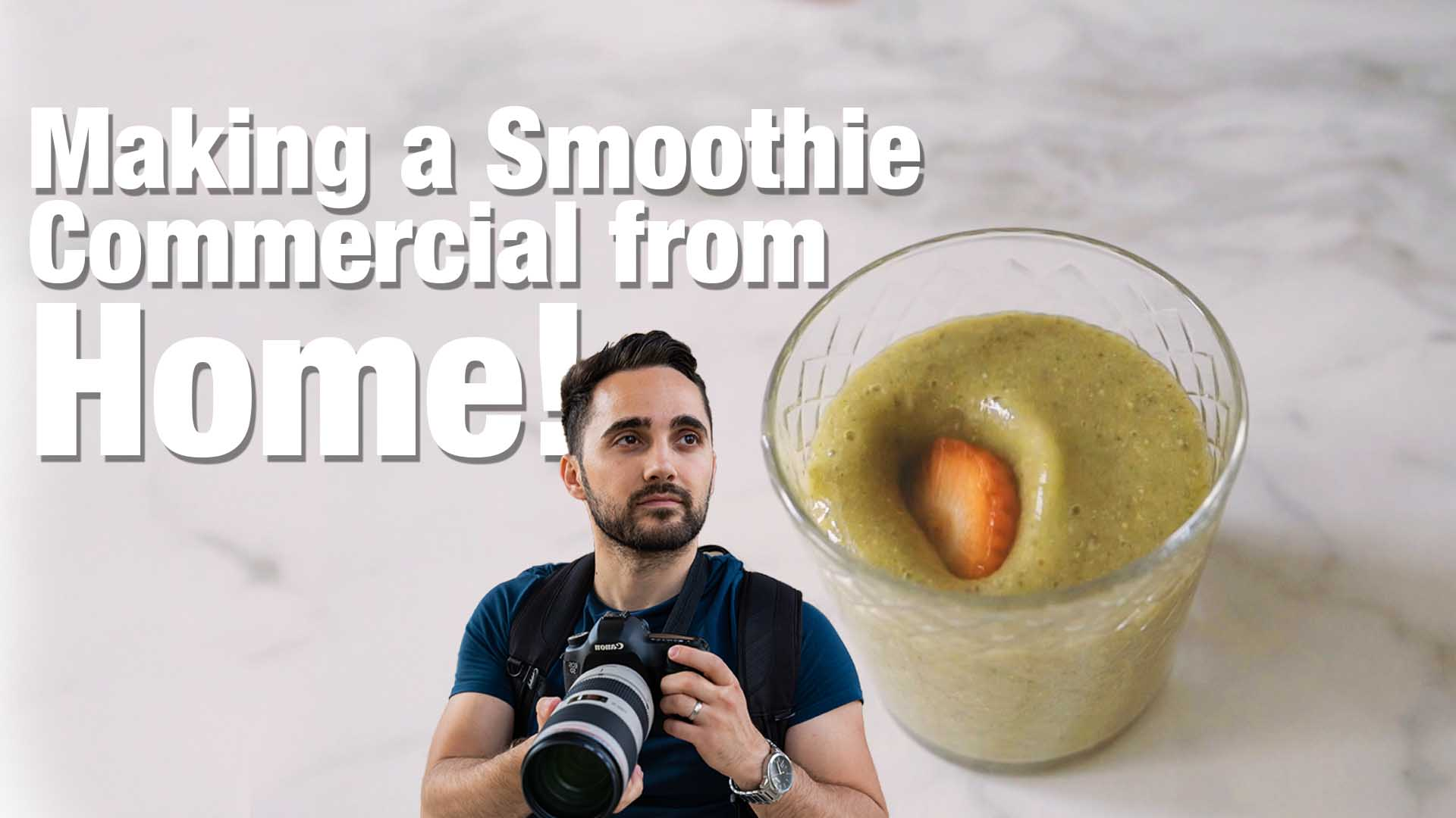 Smoothie Video from home!