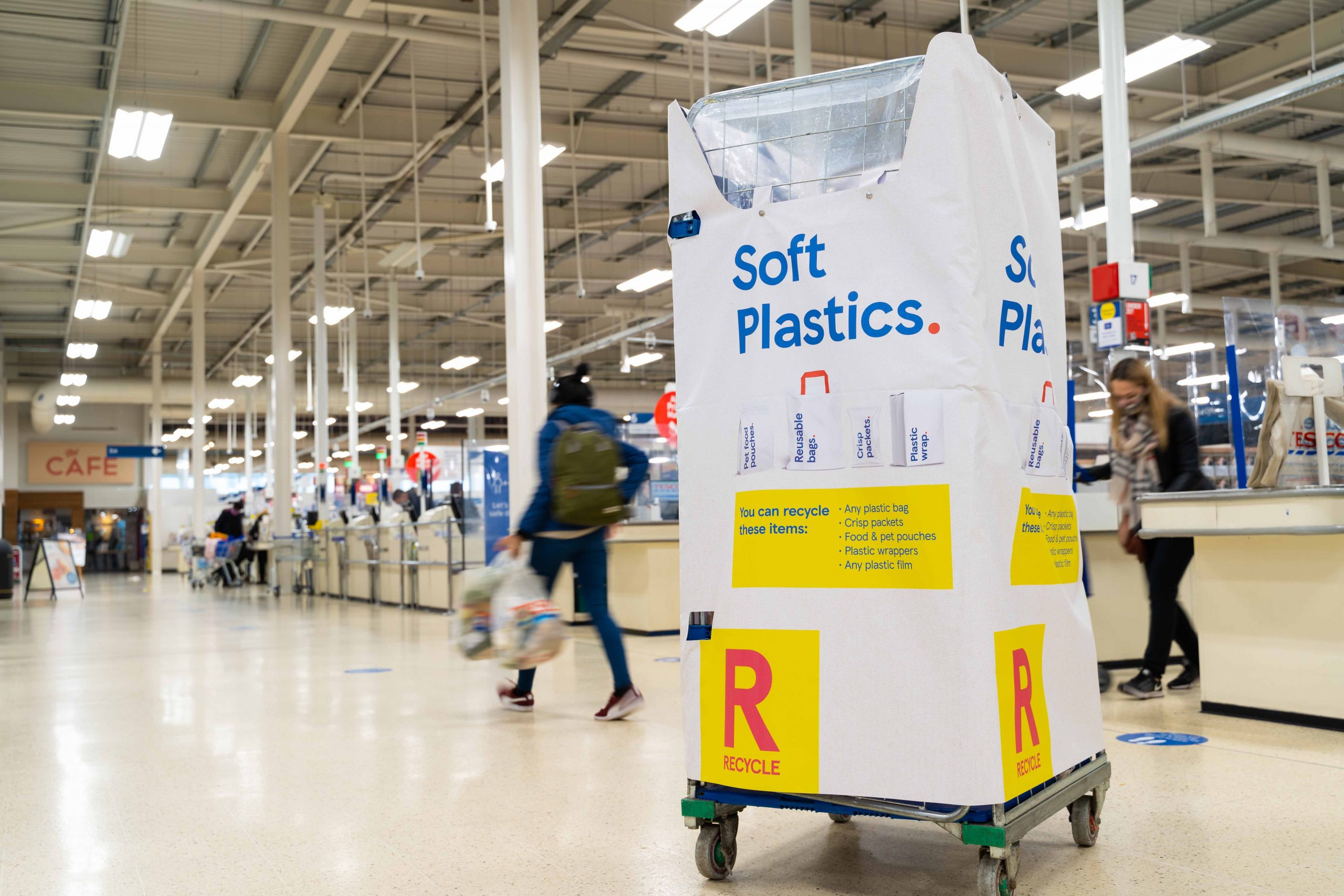 TESCO – Soft plastics – Featured in Sky News